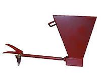 Хопер ковш для штукатура, хоппер, штукатурная лопата. Ковш штукатура. 2-х сопловый. ХПР002 ХПР002