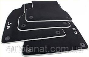Комплект оригинальных коврики салона Audi A6 (C7) велюровые (4G1061270MNO)