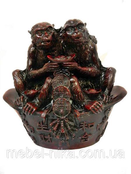 Дві мавпи на чаші достатку (х-128)