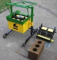 Вибростанок МАРС для производства строительных блоков