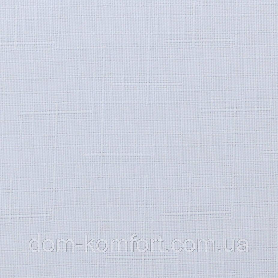 Ролеты тканевые Ткань Лён 800 Белый