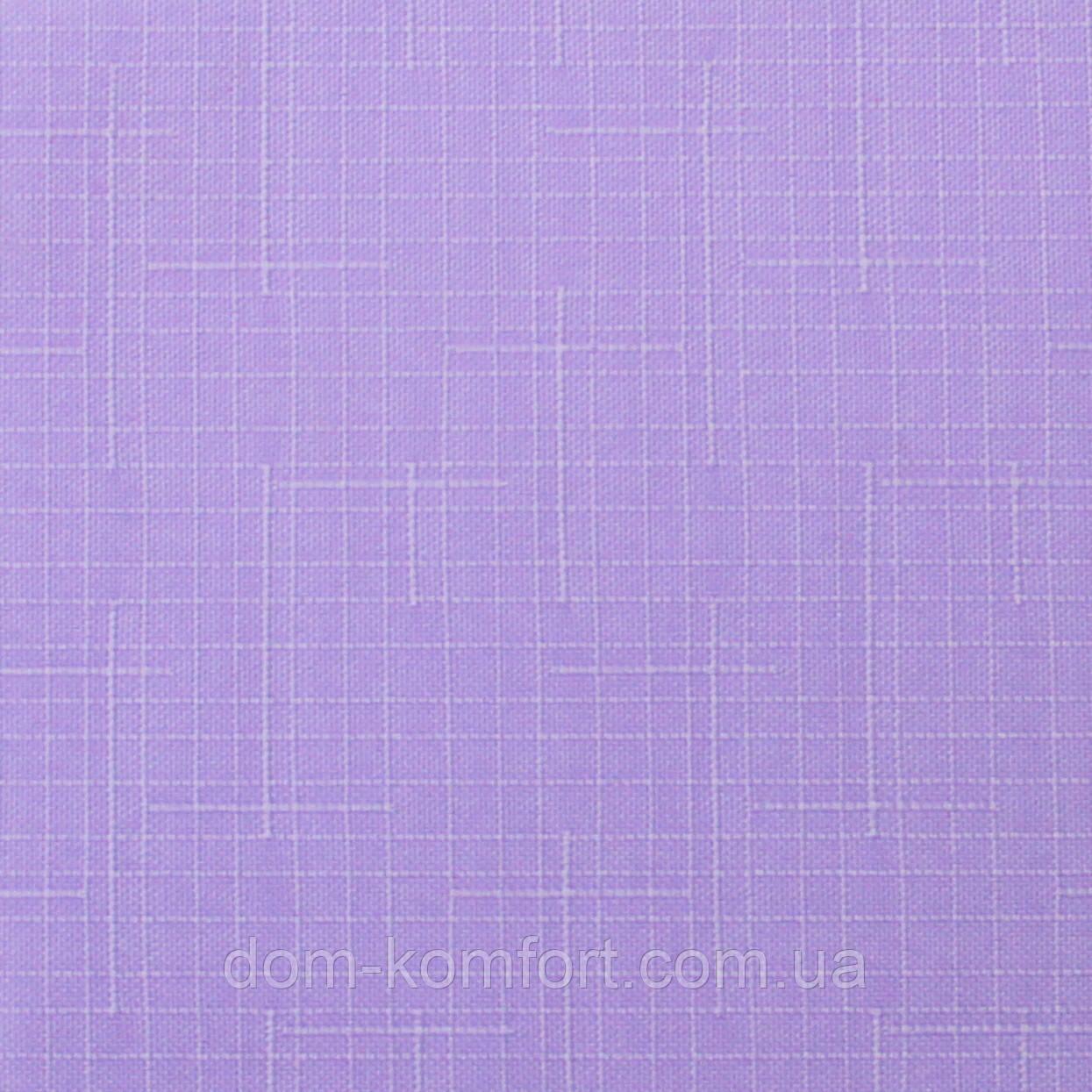 Ролеты тканевые Ткань Лён 7438 Сирень