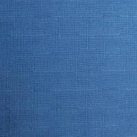 Рулонные шторы Ткань Лён 2075 Синий
