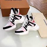 Кросівки, кеди, снікерси Луї Вітон, Archlight Sneaker, колір комбо, фото 6