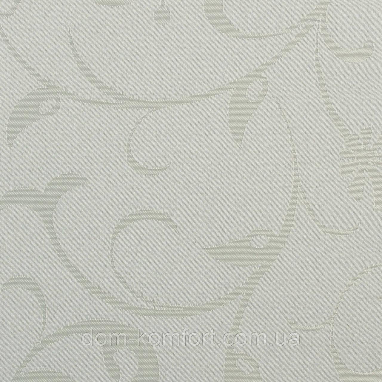 Рулонные шторы Ткань Ольга 350 Белый