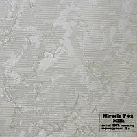 Рулонные шторы Ткань Miracle 02 Молоко