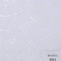 Рулонные шторы Ткань Marble Белый 8081