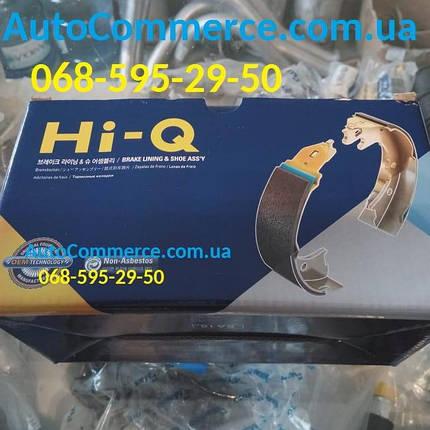 Колодки ручного тормоза Hyundai HD65, HD72, Богдан А069., фото 2