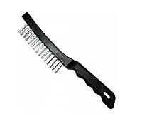 Щетка стальная 4 рядная пластиковая ручка Color Expert 93420412