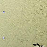 Рулонные шторы Ткань Azalia Champagne