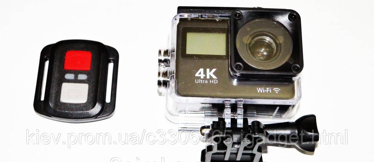 Екшн камера H9R 2 екрана Екшн + пульт + 24 крепления