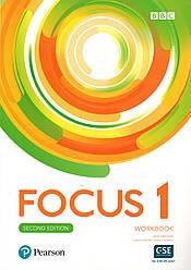 Рабочая тетрадь  Focus 2nd ed 1 Work book