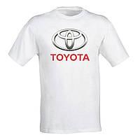"""Чоловіча футболка Push IT з принтом """"Toyota10"""" M, Білий"""