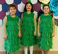 Детское карнавальное платье