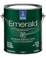 КРАСКА EMERALD INTERIOR FLAT (Изумруд) Interior Acryllic Latex Sherwin Williams