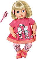 Интерактивная Кукла Повторюшка Джулия Baby Annabell Talk Back Julia