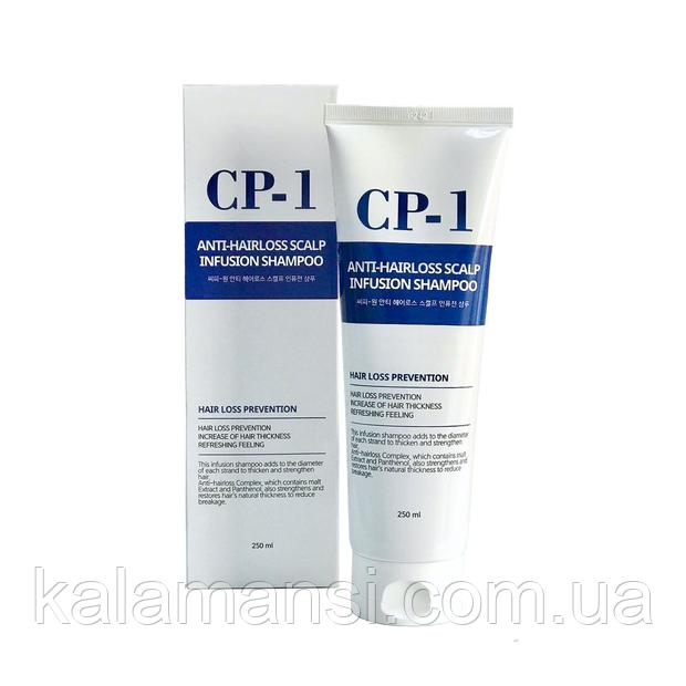 Шампунь лечения выпадения волос Esthetic House CP-1 Anti-Hair Loss Scalp Infusion Shampoo 250 мл