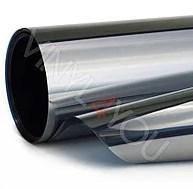 Тонировочная пленка для автомобиля. Пленка (silver\chrome) зеркальная 50х300 см \ 15%