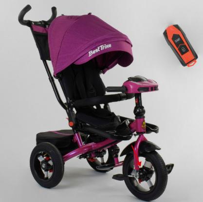 Велосипед детский трехколесный Best Trike 6088 F фиолетовый