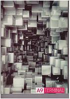 Тетрадь А4 в плотной обложке, 80 листа в клетку