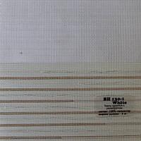 Рулонные шторы День-Ночь Ткань Холст Белый ВН 130\1