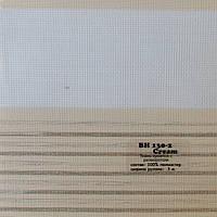 Рулонные шторы День-Ночь Ткань Холст Кремовый ВН-130\2