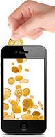Пополнение мобильного телефона 310 грн