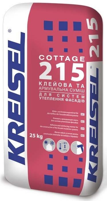 Клей для систем утепления универсальный KREISEL-215, 25кг