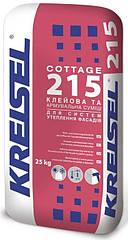 Клей для систем утеплення універсальний KREISEL-215, 25кг