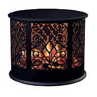 Электрокамин Dimplex Volterra LED экран с эффектом 5D пламени Opti-V со звуком потрескивания дров