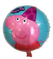 """Шар """"Свинка Пеппа"""", 44 см, фольгированный"""
