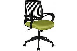 Крісло офісне комп'ютерне для персоналу Barsky / Панськи Office plus OFB-01 / OFB-02 / OFW-01 / OFW-02 чорний