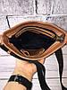 Мужская кожаная сумка через плечо барсетка коричневая ,планшетка ,мессенджер из натуральной кожи, фото 2