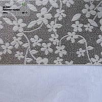 Рулонні штори День-ніч тканина Роксолана Срібло
