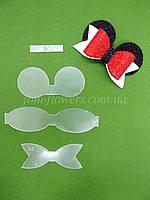 Шаблон пластиковый для создания бантика Минни маус