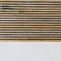Рулонные шторы День ночь ткань Саванна Орех