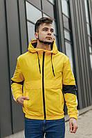 Чоловіча вітровка жовта 070, фото 1