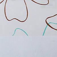 Рулонные шторы День-ночь Ткань Камелия Бирюза