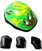 Роликовые коньки квады Scale Sport С защитой и шлемом Зеленые р.29-33 (SD), фото 2