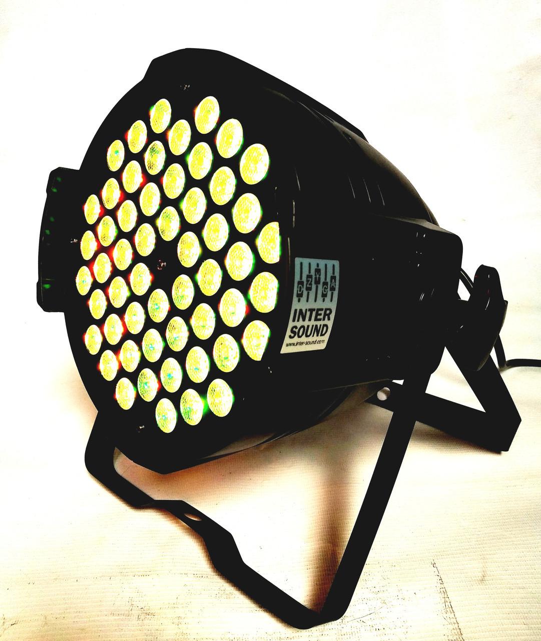 Led par 54x3W. RGB(W) 3in1 светомузыка, подсветка, строб