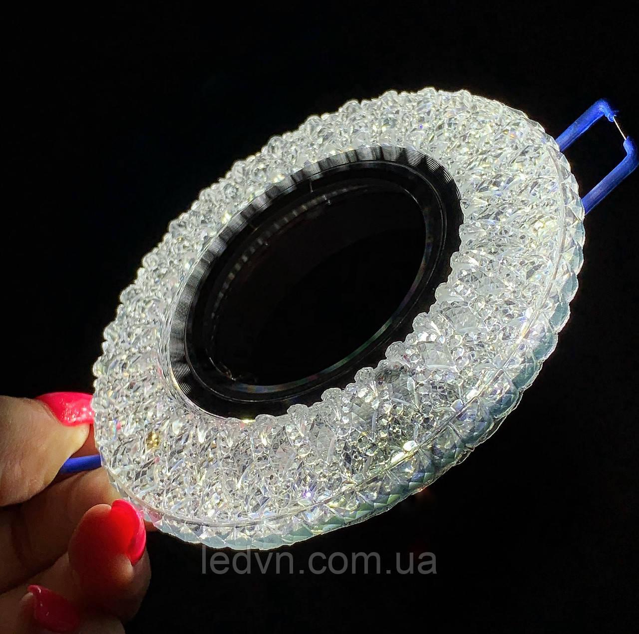 Точковий світильник з LED підсвічуванням
