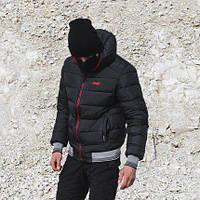 Зимняя мужская куртка Omar двусторонняя L
