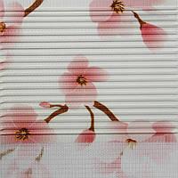 Рулонные шторы День-ночь Ткань Сакура Персиковый