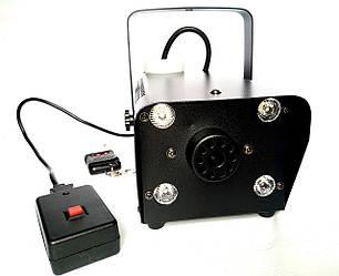 Дым машина с подсветкой RGB 400 Вт (Генератор дыма)