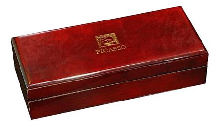 Ручка капиллярная деревянном футляре PICASSO 988, фото 2