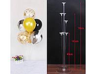 Пластиковая подставка (стойка) для воздушных шаров (на 7 штук)