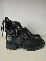 Ботинки женские демисезонные кожаные последний размер 40
