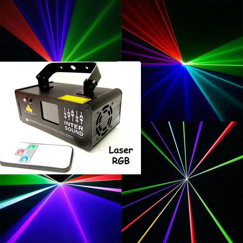 Лазерный проектор RGB с пультом ДУ. Лазер диско DM-RGB 400