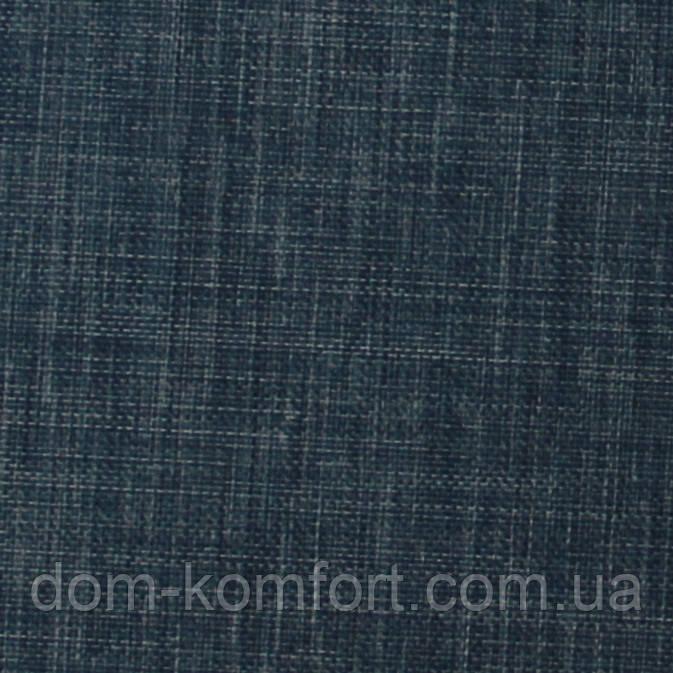Рулонные шторы Ткань Джинс натуральный 733 Тёмно-синий