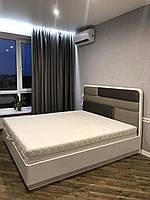 Кровать Вейв белая с подъемным механизмом от TopArt